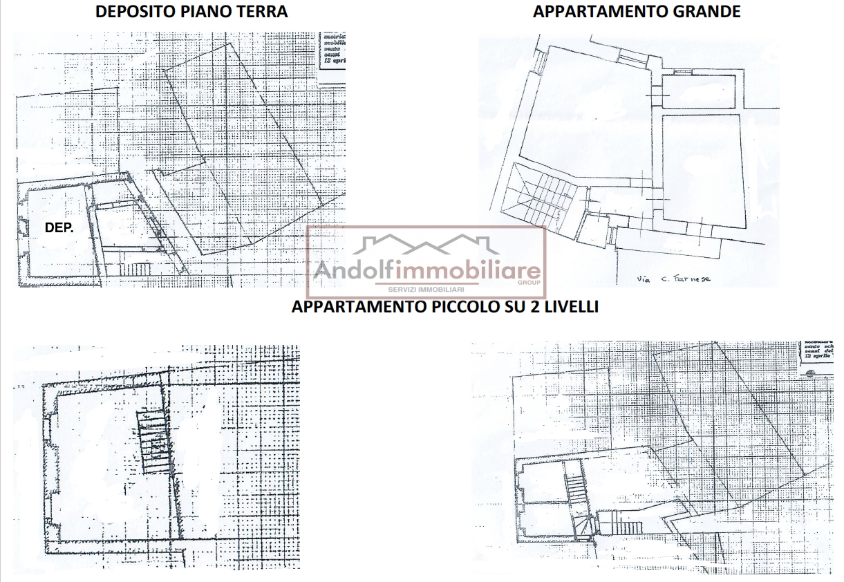Itri Via Civita Farnese, porzione di fabbricato.